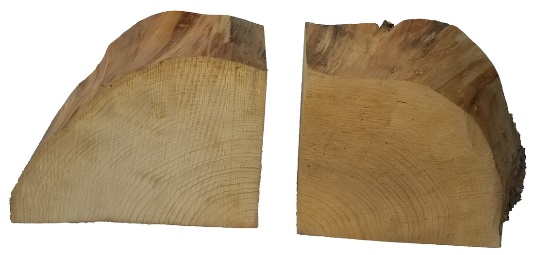 Quarter Pine Log Slices Picture