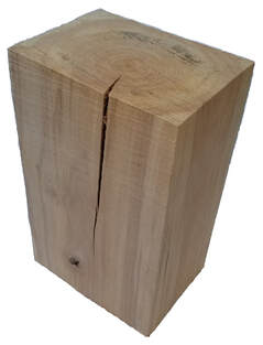 Birch Wood Block Picture