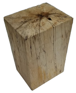 Basswood Log Rectangle