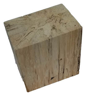 Rectangle Wood Block Pillar