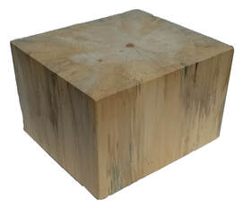Poplar Wooden Block