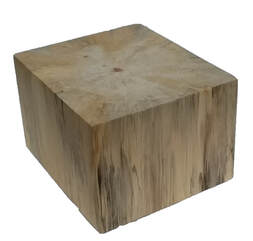 Poplar Rectangle Wood Block