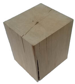 large wood block for display Picture